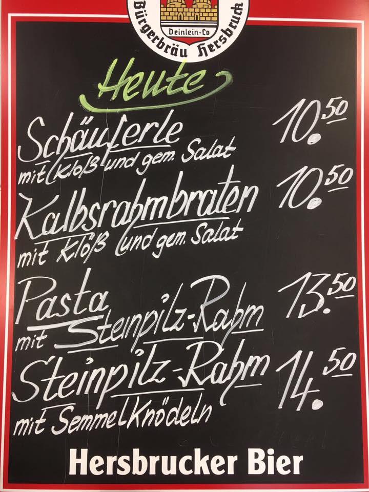 Kommen, bestellen und genießen