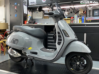 Vespa GTS300HPE SuperTech Modification 外觀改裝