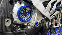 BMW S1000RR HP4 x CNC Racing clear clutch cover