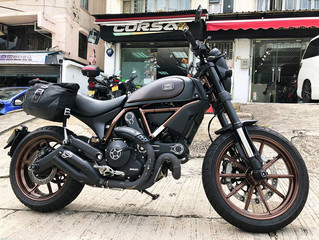 Ducati Scrambler Independent 安裝 HealTech 波段顯示器