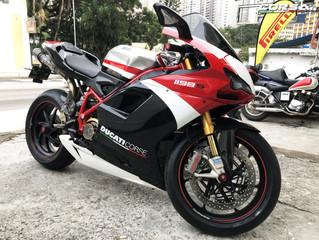 Ducati 1198s Corse service