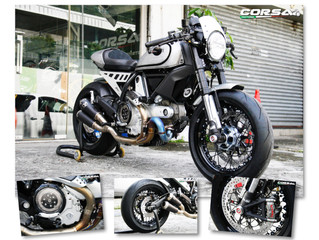 Ducati Scrambler 升級改裝 by Corsa Motors