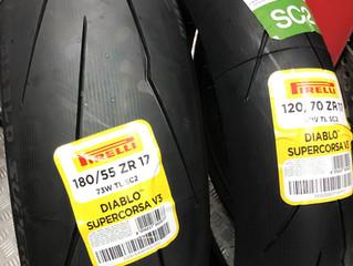 Pirelli 最新推出的Diablo Supercorsa V3