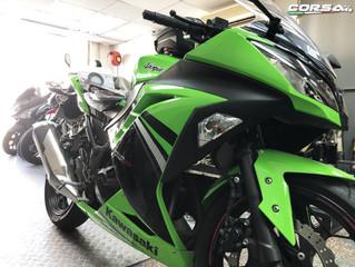 Kawasaki Ninja 300 選用️BMC 高流量風隔