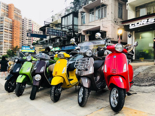 Today is Vespa day