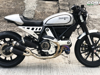 Ducati Scrambler 升級改裝
