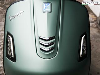 Vespa GTS 300 車身轉色及改裝