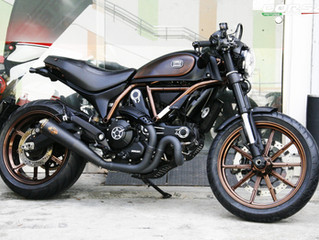 Ducati - Scrambler Italia Independent 改裝服務