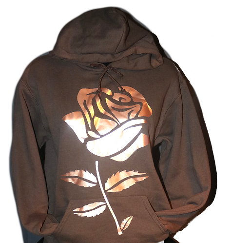 A Rose Gold Rose
