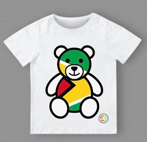 Teddy bear flag T-shirt