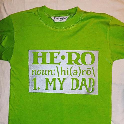 Hero = My dad