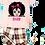 Thumbnail: Pink tartan pyjamas