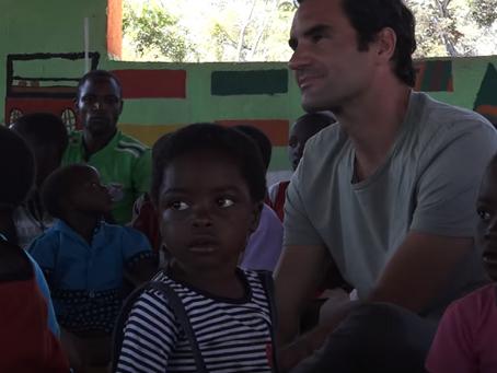 Ρότζερ Φέντερερ. Επενδύει την περιουσία του στην εκπαίδευση των έξι πιο φτωχών χωρών της Αφρικής.