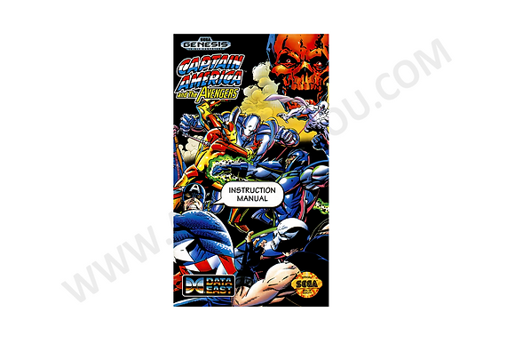 Manual Captain America and The Avengers Genesis
