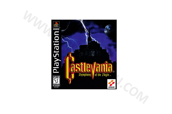 Manual Castlevania Synphony of The Night U.S.A