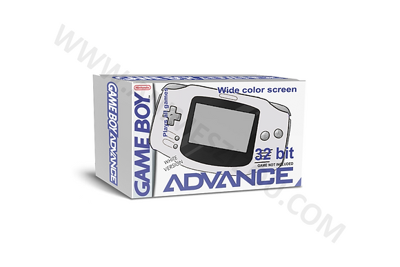 Caixa para Console GBA (P)
