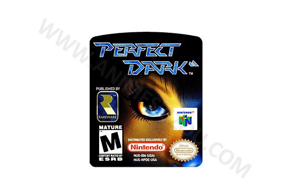 Label Para cartucho de Nintendo 64