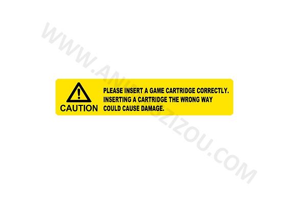 Label Para Cartucho de Aes (Tarja)