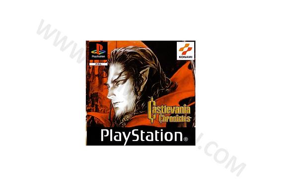 Manual Playstation Castlevania Chronicles