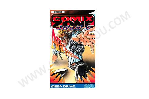 Manual Comix Zone Mega Drive JP