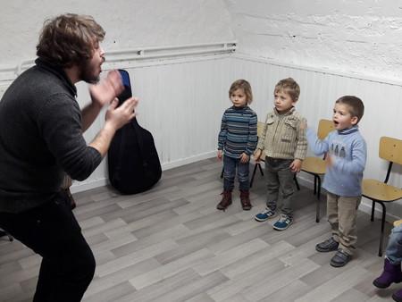 Eveil musical en maternelle
