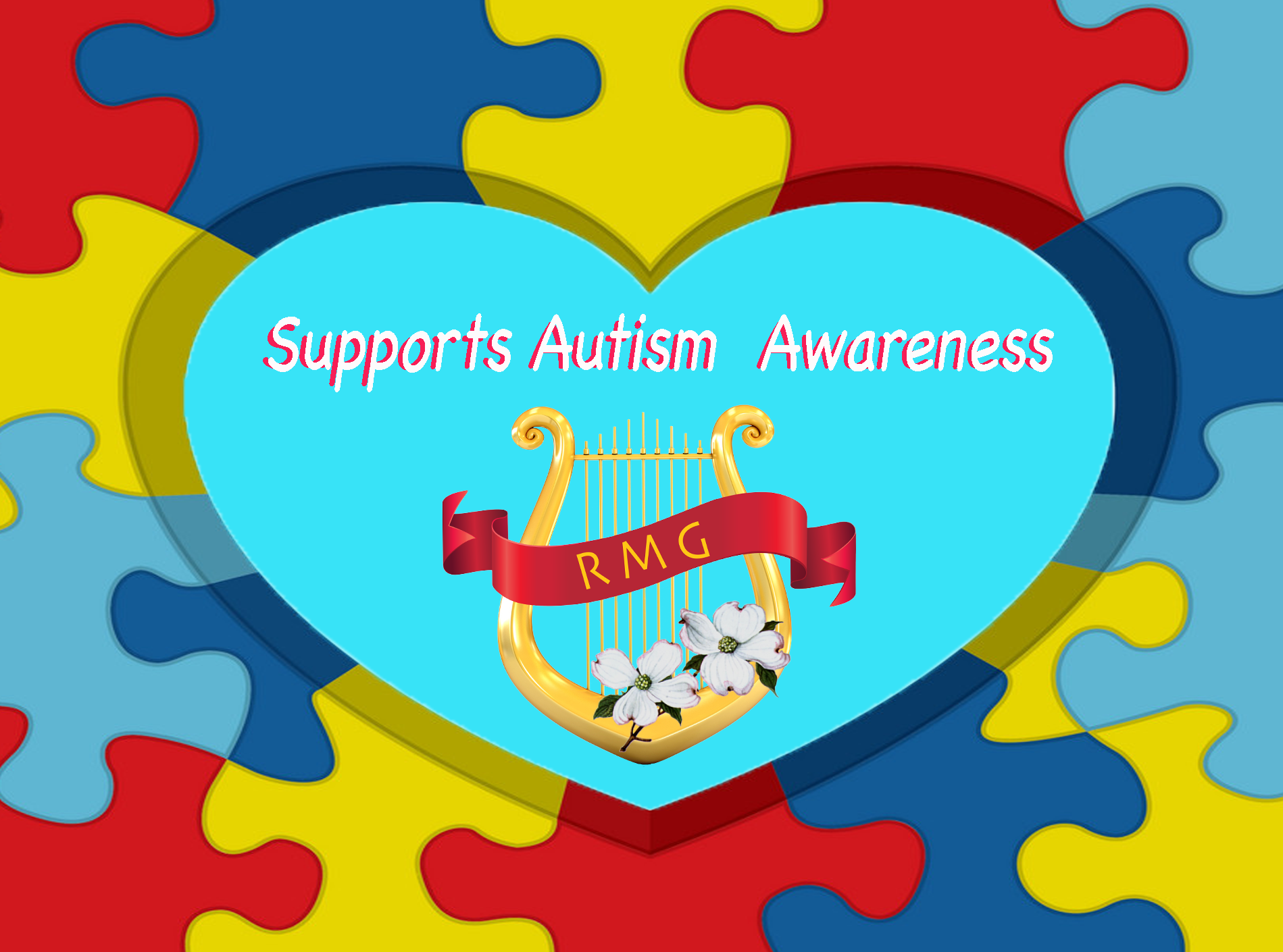 We Support Autism Awareness Banner
