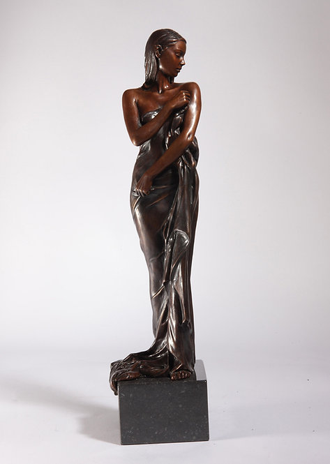 'Timeless Beauty' Bronze Sculpture with free print.