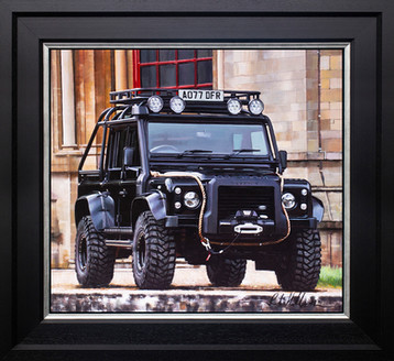 "Land Rover  Defender ""Spectre Edition"""