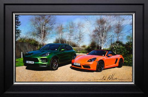 Porsche Macan and Boxster