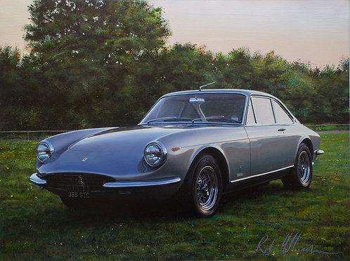 Ferrari 365 GTC (Eric Clapton) Original Painting