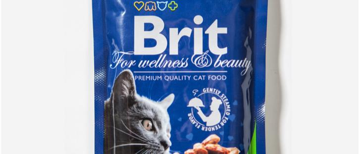 Ensopado de FRANGO para Gatos Castrados - BRIT