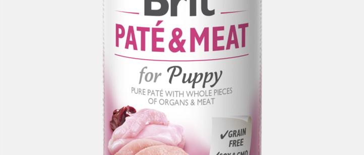 Brit Paté & Meat - Alimento Úmido de FILHOTE