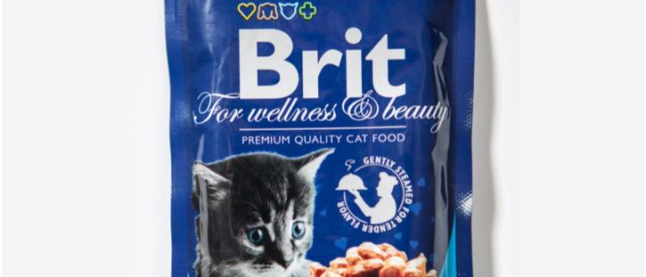 Ensopado de FRANGO Filhotes para Gatos - BRIT