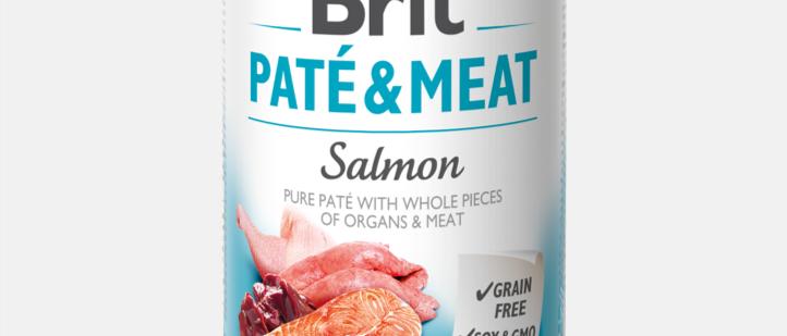 Brit Paté & Meat - Alimento Úmido de SALMÃO