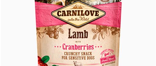 Snack Carnilove de Cordeiro com Cranberries para CÃES
