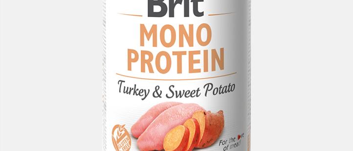 Brit Mono Protein - Alimento Úmido de PERU & BATATA DOCE