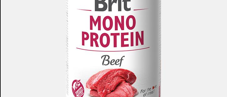 Brit Mono Protein - Alimento Úmido de BEEF