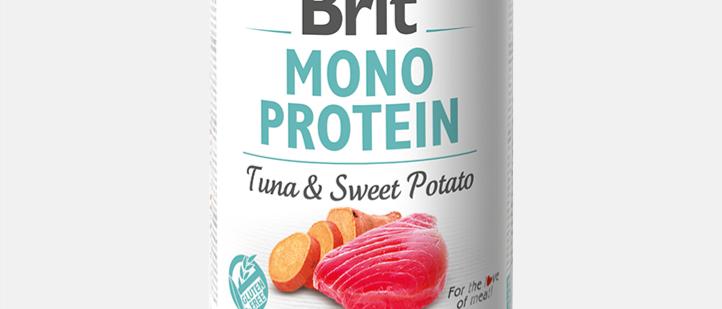 Brit Mono Protein - Alimento Úmido de ATUM & BATATA DOCE