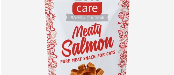 Snack de SALMÃO para Gatos- BRIT CARE Meaty