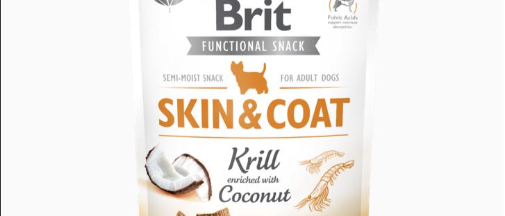 Snack Soft BRIT CARE FUNCTIONAL de Krill & Coco para CÃES