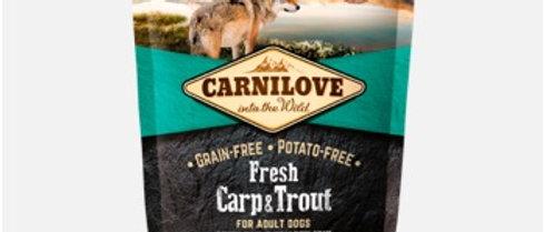 Carnilove Fresh de Carpa e Truta para CÃES Adultos