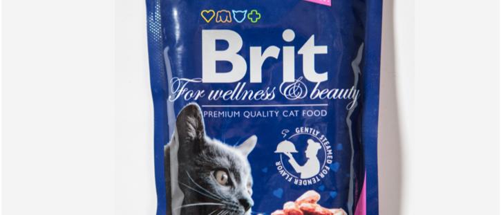 Ensopado de SALMÃO e TRUTA para Gatos - BRIT