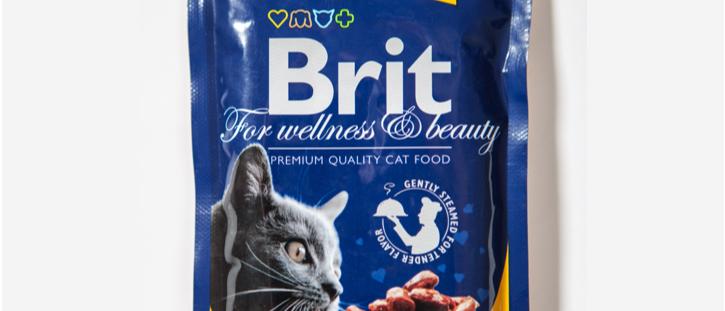 Ensopado de FRANGO e PERU para Gatos - BRIT