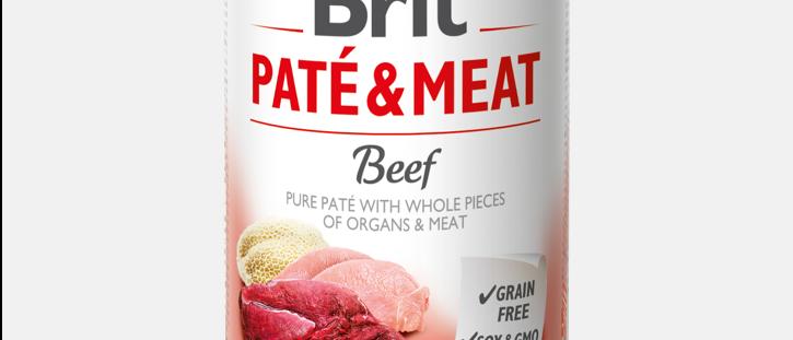 Brit Paté & Meat - Alimento Úmido de BEEF
