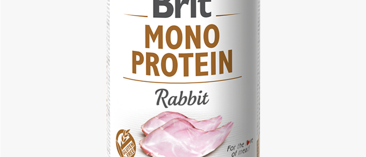 Brit Mono Protein - Alimento Úmido de COELHO
