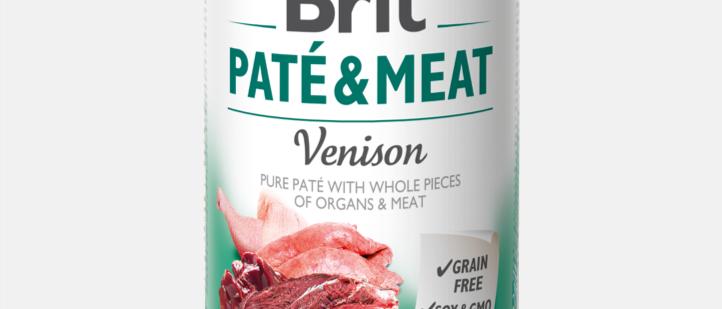 Brit Paté Meat - Alimento Úmido de CERVO