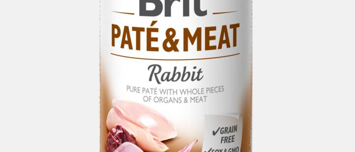 Brit Paté & Meat - Alimento Úmido de COELHO