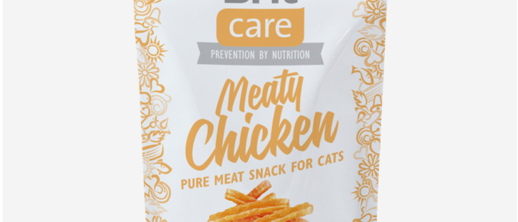 Snack de FRANGO para Gatos- BRIT CARE Meaty