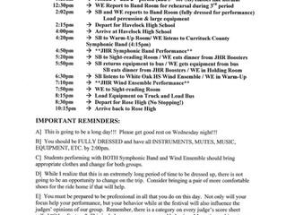 MPA Schedule