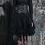 Thumbnail: Pentagramme - Lace Skirt with Brocade Waist Cincher